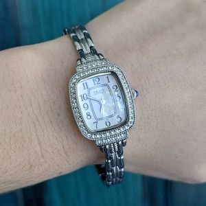 NWOT Diamonique Bracelet Watch
